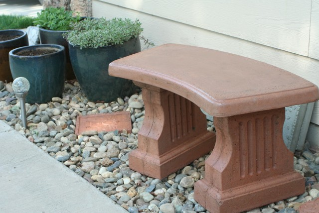 Stone Garden Benches Lowes
