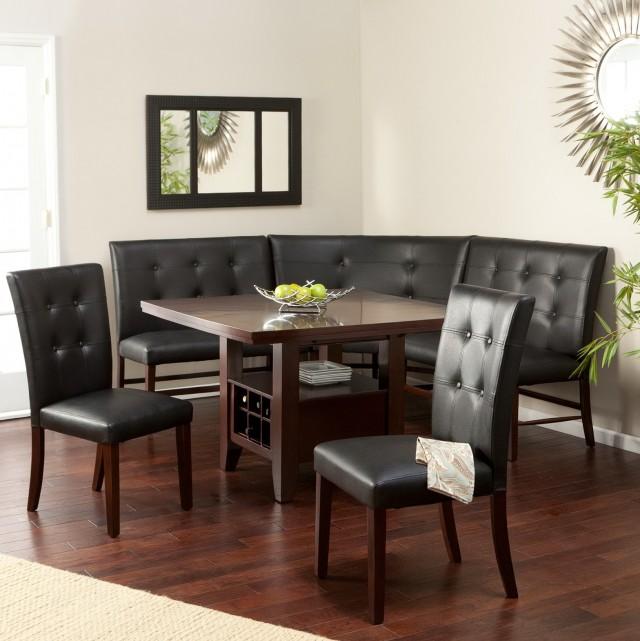 Upholstered Corner Dining Bench