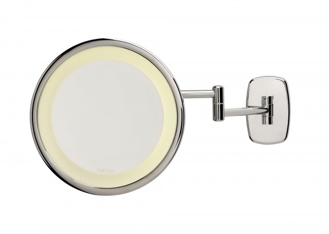 Wall Mounted Lighted Makeup Mirror Oil Rubbed Bronze