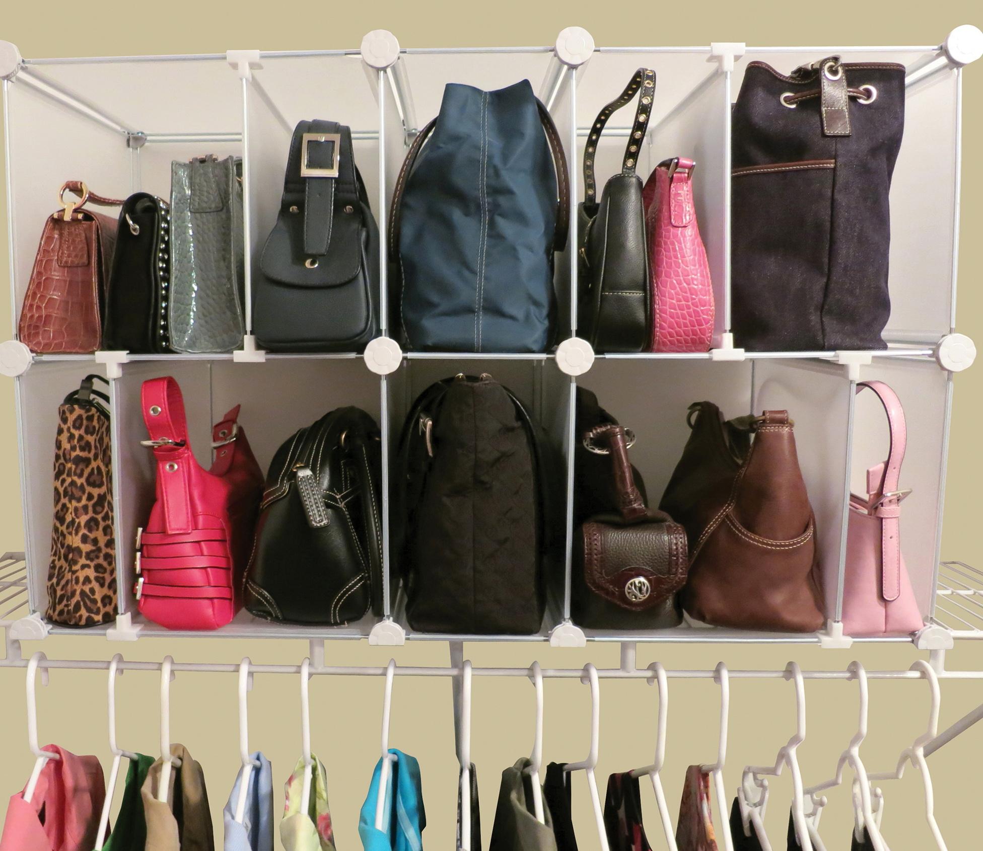 Closet Organizer Ideas For Purses