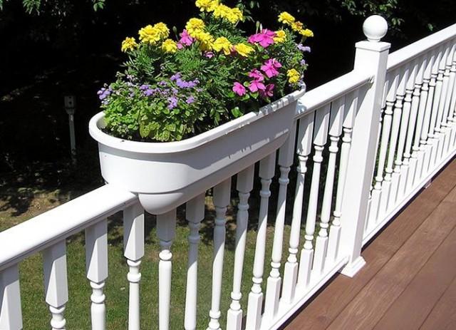 Deck Planter Boxes Railing