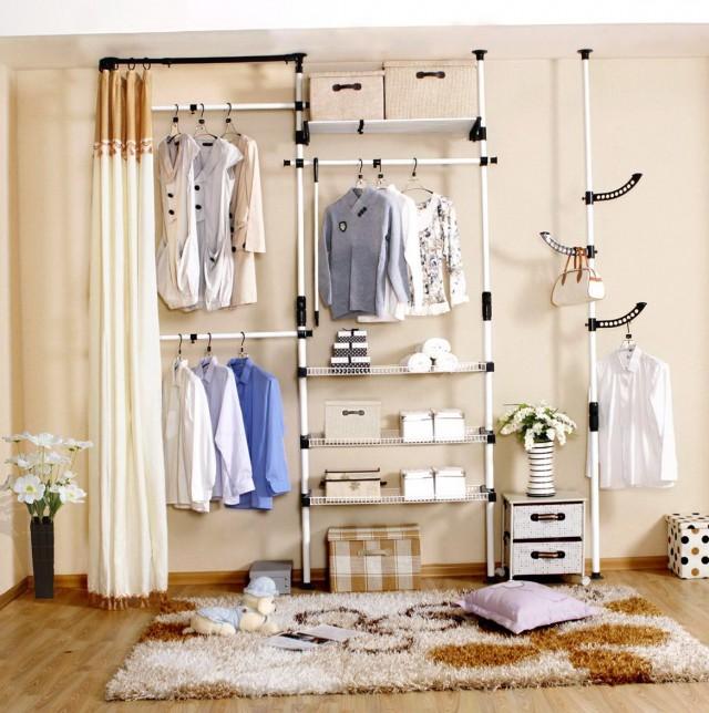 Diy Hanging Closet Organizer