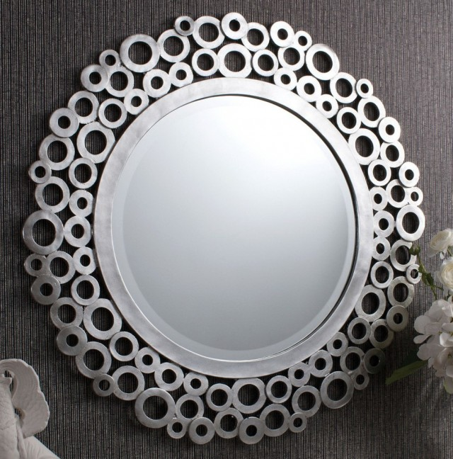 Silver Framed Mirrors Uk