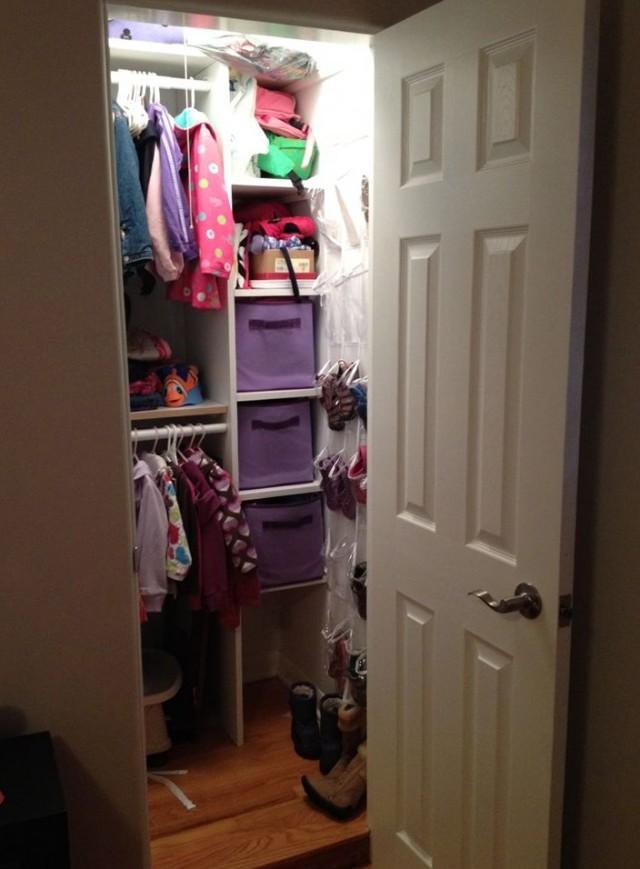 Small Closet Organization Pinterest