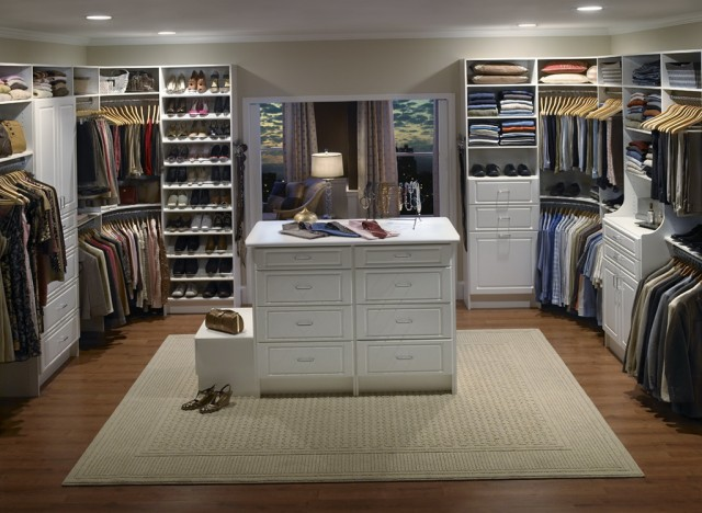 Walk In Closet Design Ideas