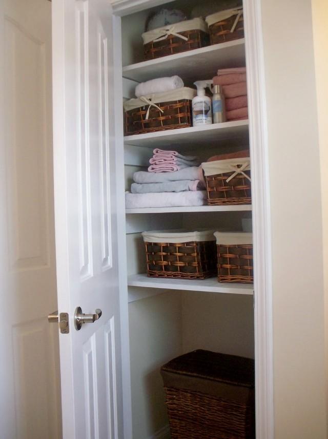 Deep Linen Closet Ideas