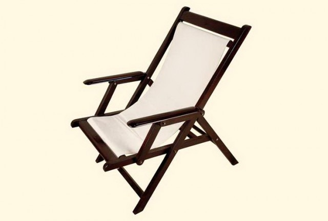 Folding Deck Chairs Canvas