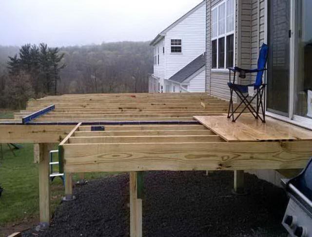 Free Standing Deck Design