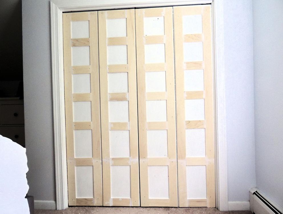 How To Trim Bifold Closet Doors