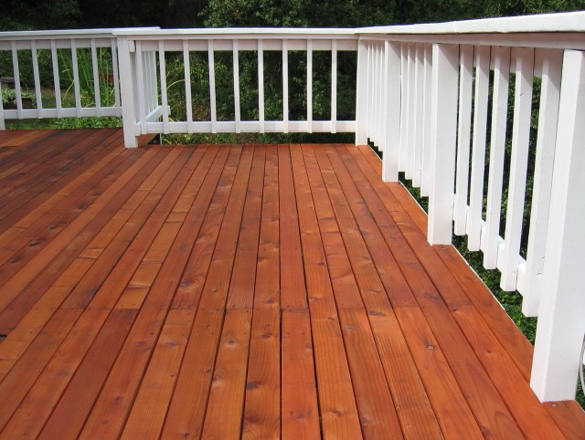 Paint Or Stain Deck Floor