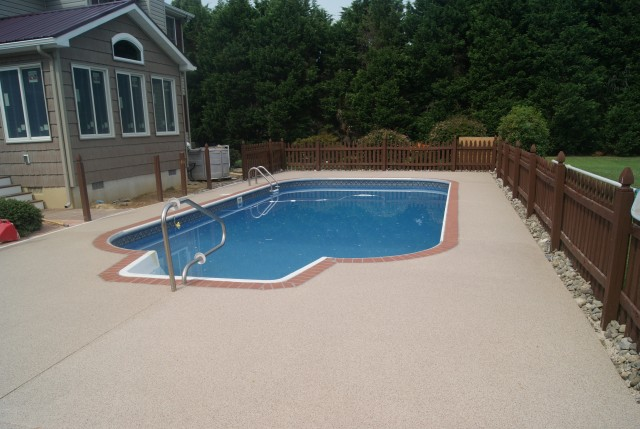 Pool Deck Coating Repair