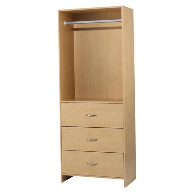 Closet Storage Drawers Wood