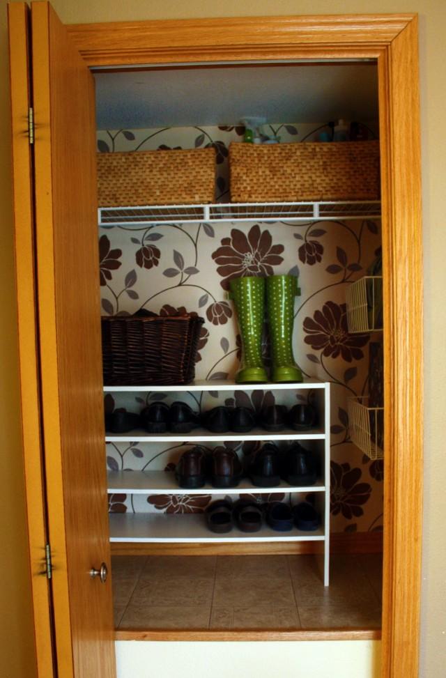 Coat And Shoe Closet Organization