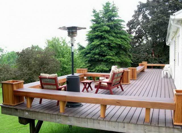 Deck Railing Planters Menards