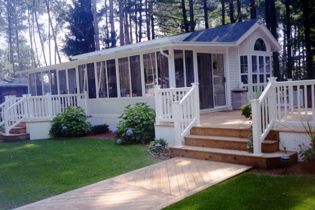 Front Deck Designs For Mobile Homes