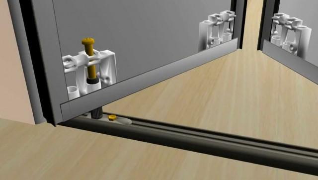 Mirror Bifold Closet Doors Hardware