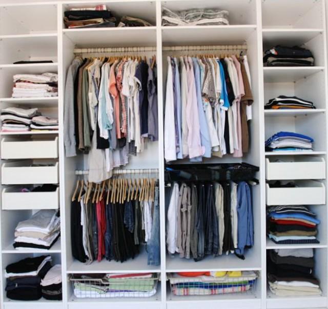 Small Master Closet Ideas