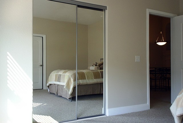 Wood Sliding Closet Doors With Mirrors