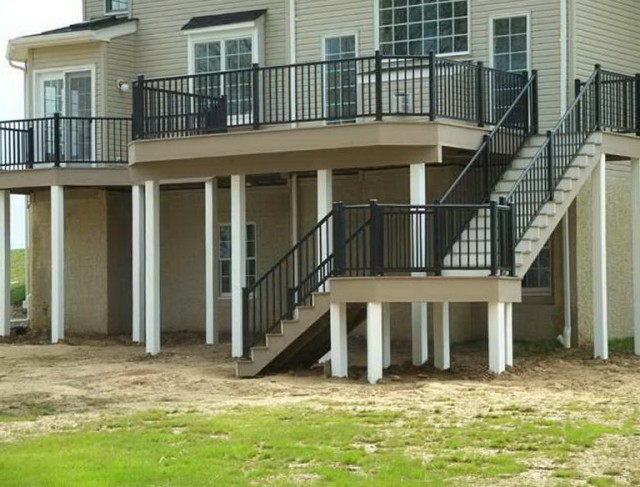 Build Deck Stairs With Landing