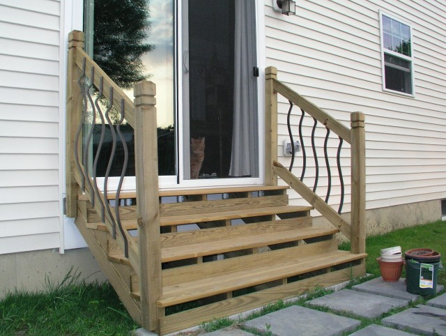 Build Stairs Off Deck