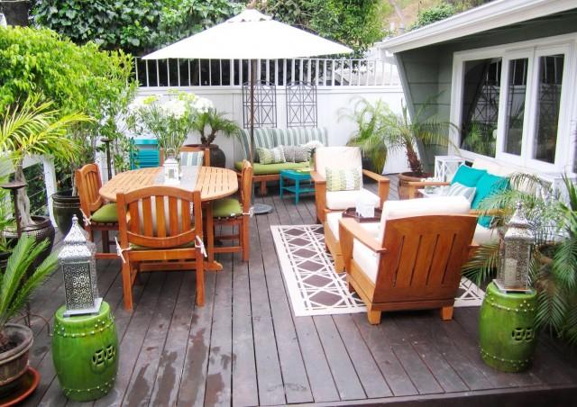 Cheap Deck Decorating Ideas