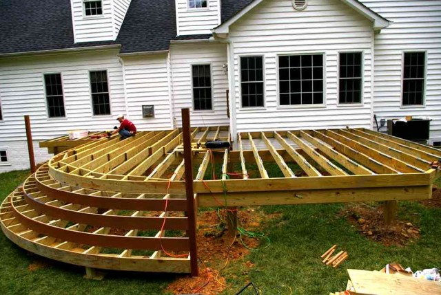 Deck And Patio Design Plans
