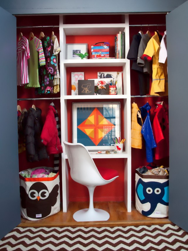 Kids Small Closet Ideas