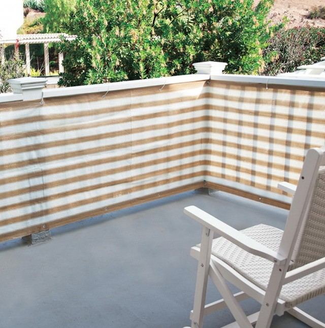 Privacy Screen For Deck Porch And Patio Railings