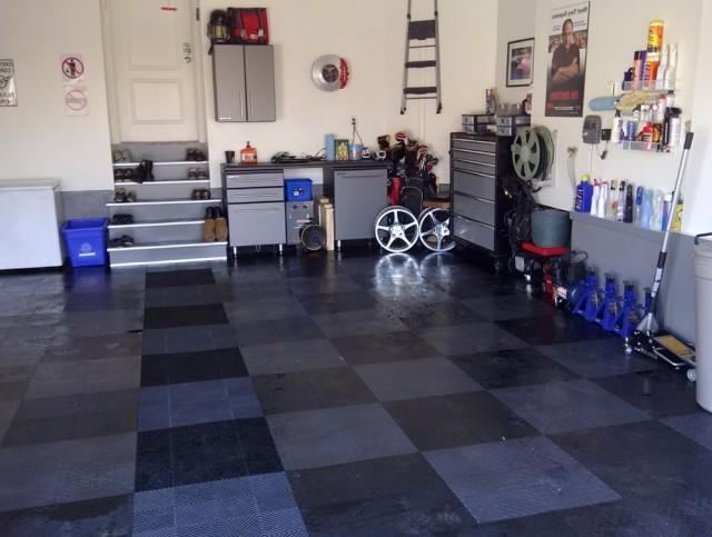 Race Deck Garage Flooring