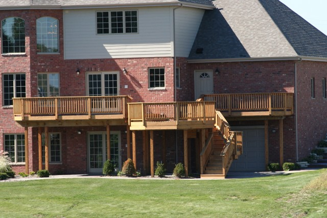 Second Story Deck Designs