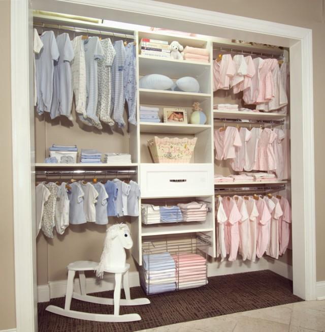 Baby Closet Hanging Organizer