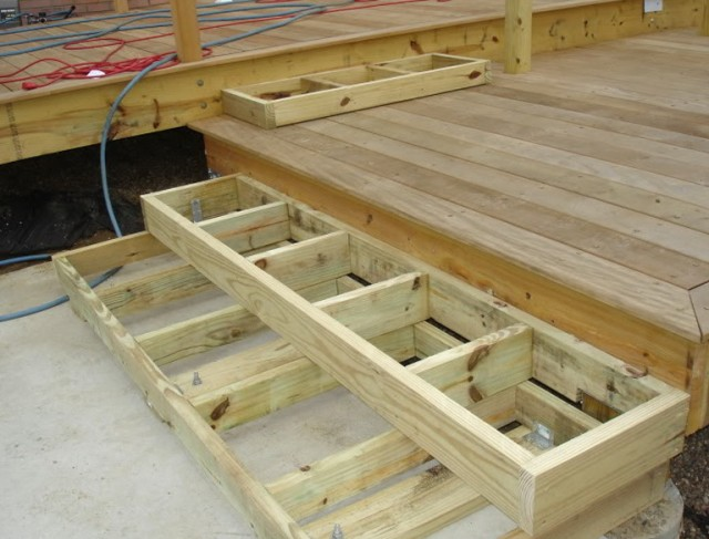 Building Deck Stairs On Sloped Ground