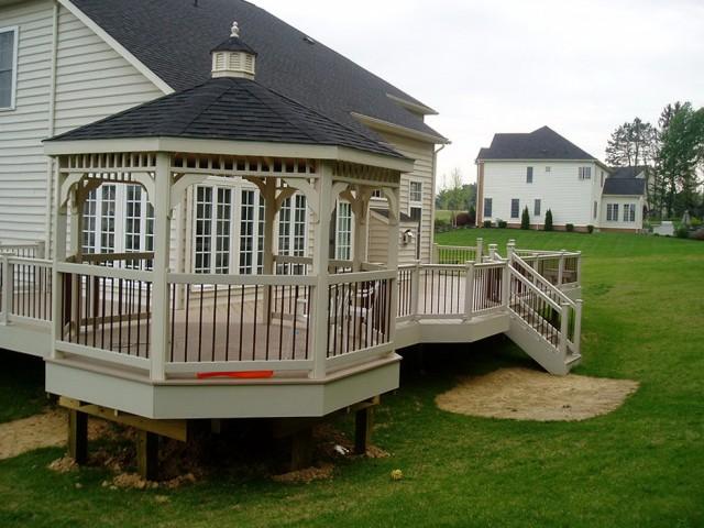 Deck With Gazebo Designs