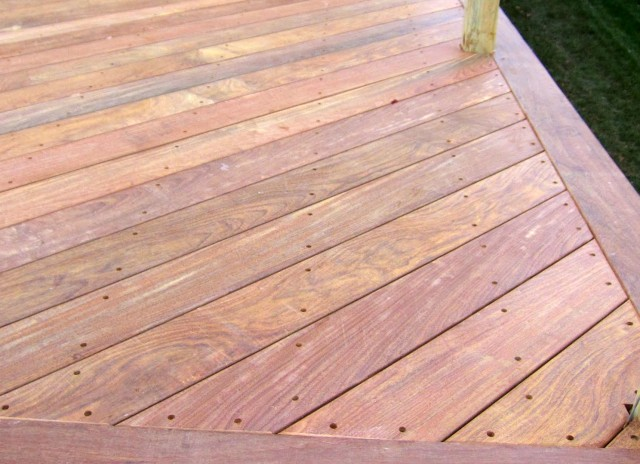 Ipe Wood Deck Oil