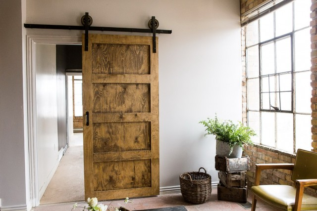 Rustic Barn Doors For Closets