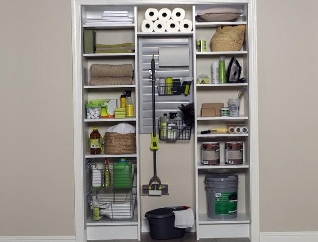 Utility Closet Organization Ideas