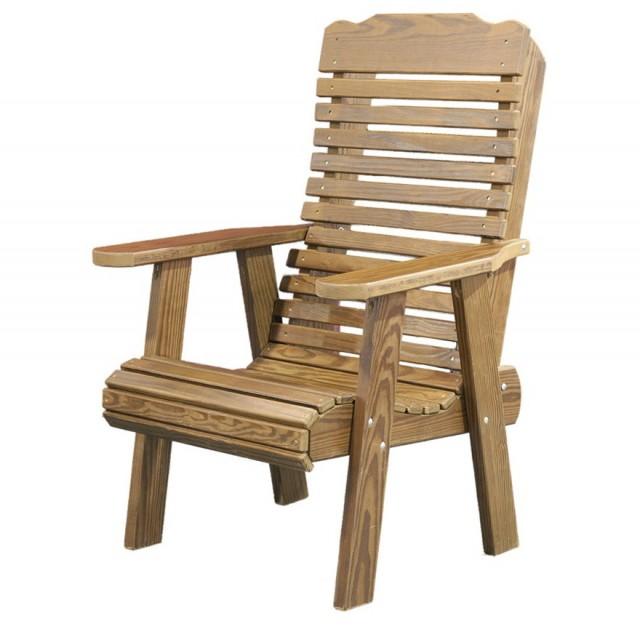 Wooden Deck Chair Plans