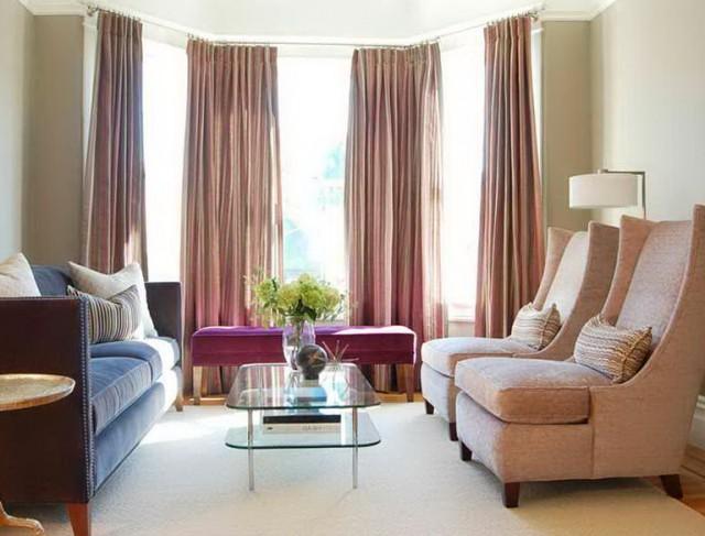 Bay Window Curtain Rod Lowes