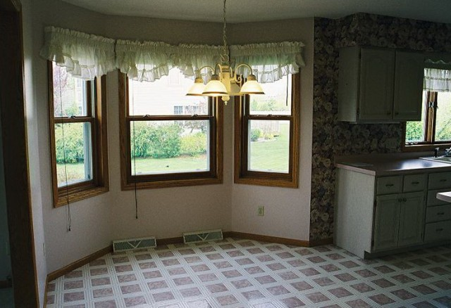 Bay Window Curtains For Kitchen