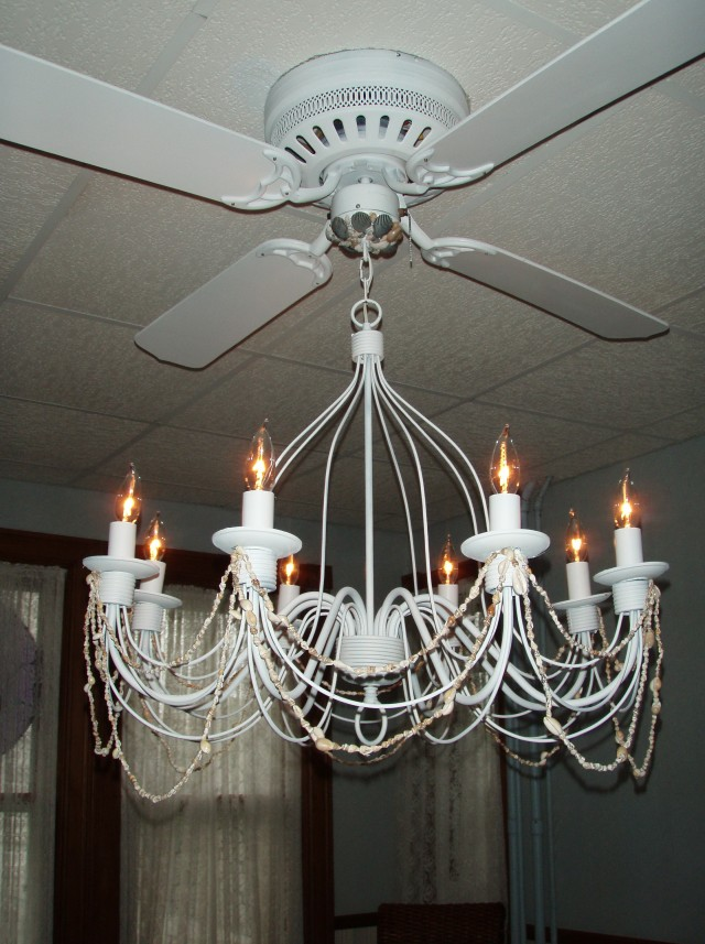 Ceiling Fans With Chandeliers Attached