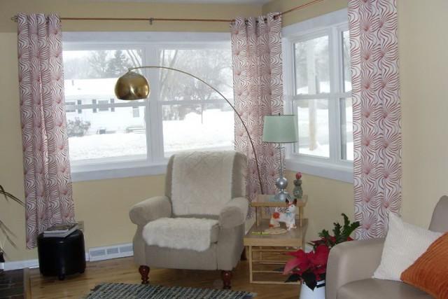 Corner Curtain Rod Target