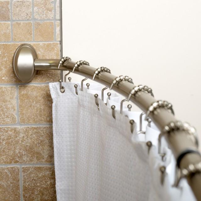 Corner Shower Curtain Rod Walmart