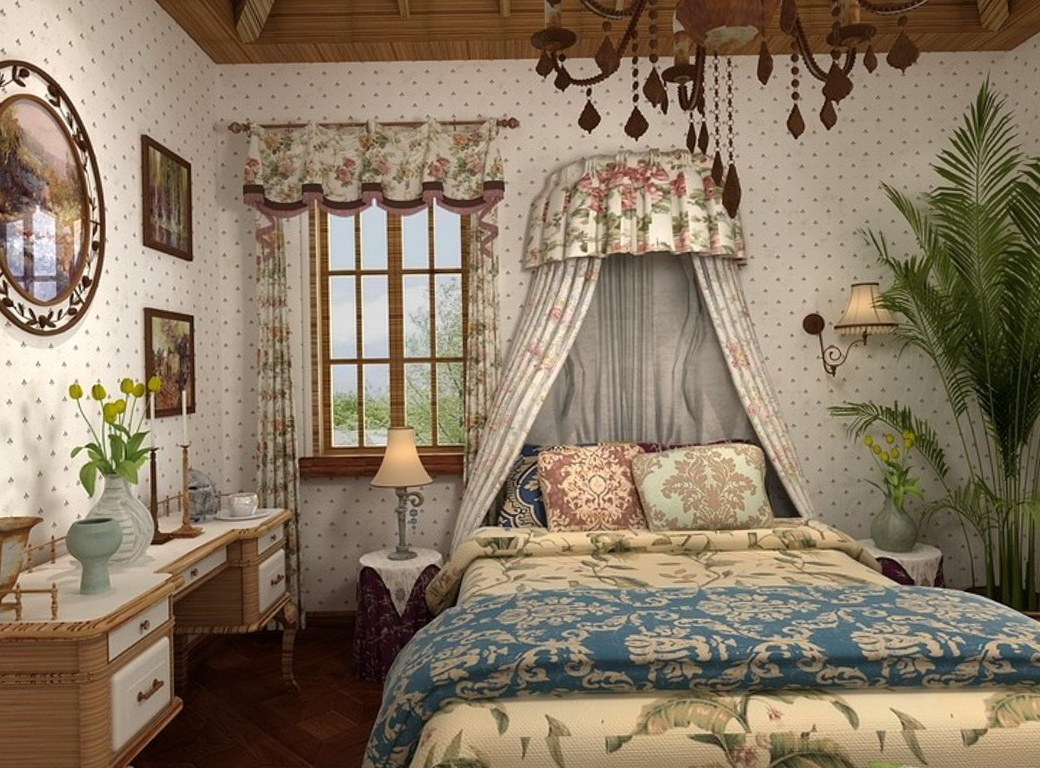 Country Style Curtains For Bedroom