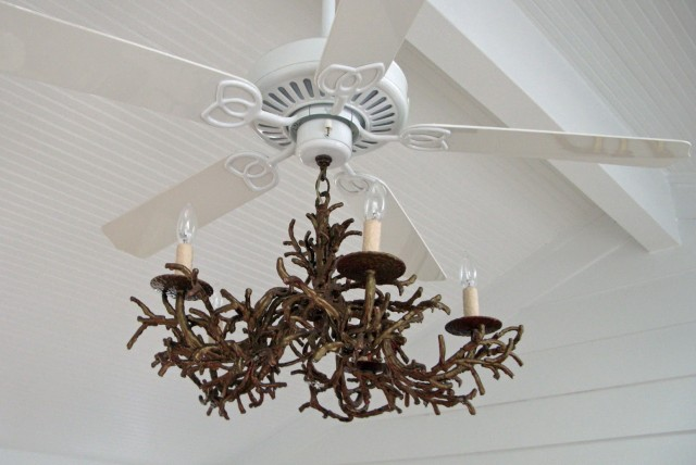 Crystal Chandelier Ceiling Fan Combination