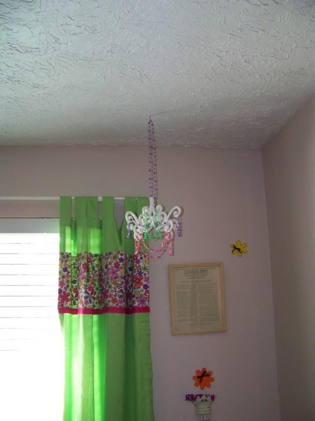 Crystal Chandelier Girls Room