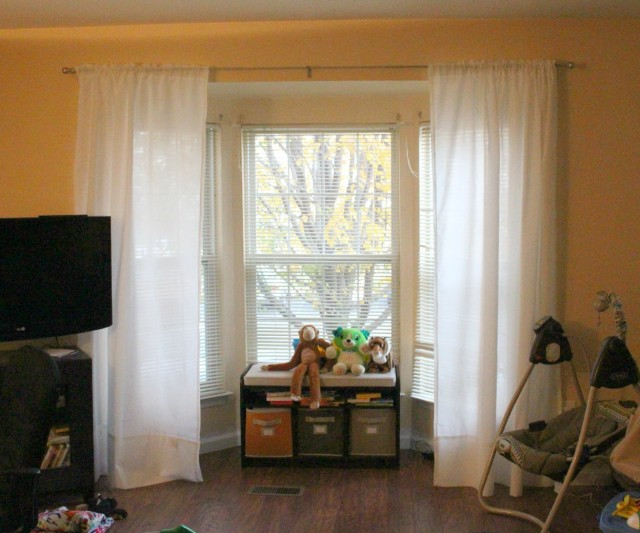 Curtain Rods For Bay Windows Walmart
