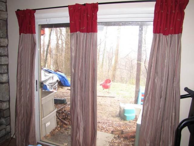 Curtains For Sliding Doors Decorating Divas