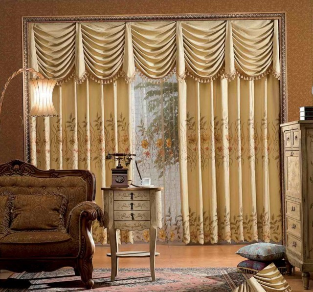 Drapes And Curtains Design Ideas