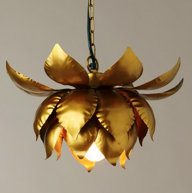 Lotus Flower Chandelier Pottery Barn