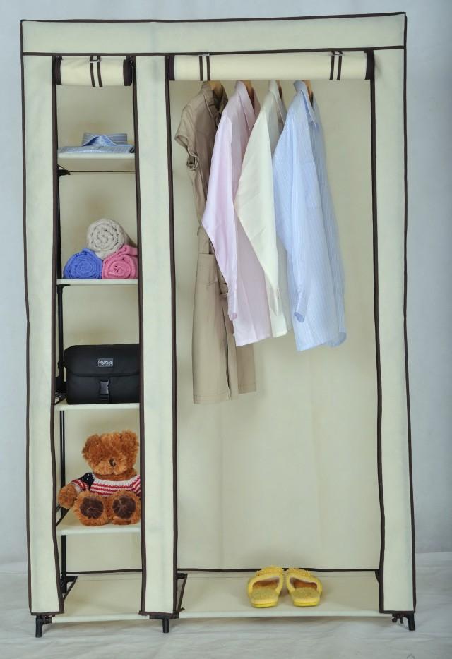 Metal Portable Closet Wardrobe